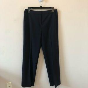 Lafayette 148 New York Navy Dress Pants- Size 8